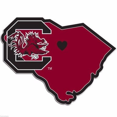 South Carolina Gamecocks Decal