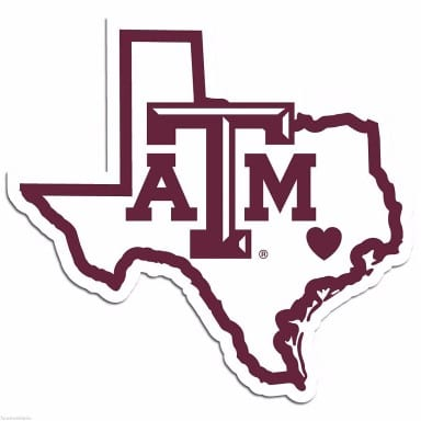 Texas A&M Aggies Merchandise - Decal