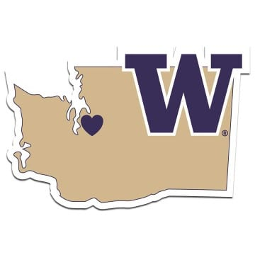 Washington Huskies Merchandise - Home State Decal
