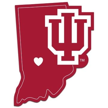 Indiana Hoosiers Merchandise - Home State Decal