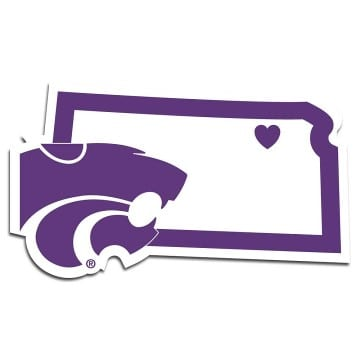 Kansas State Wildcats Merchandise - Home State Decal