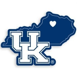 Kentucky Wildcats Home State Decal