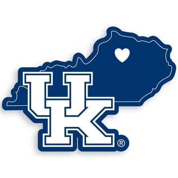 Kentucky Wildcats Merchandise - Home State Decal