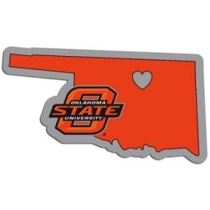 Oklahoma State Cowboys Home State Decal
