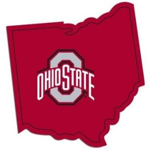 Ohio State Buckeyes Home State Decal