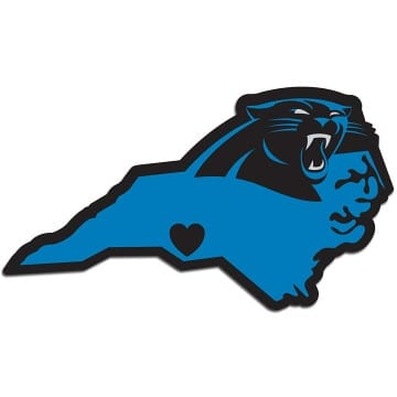 Carolina Panthers Merchandise - Home State Decal