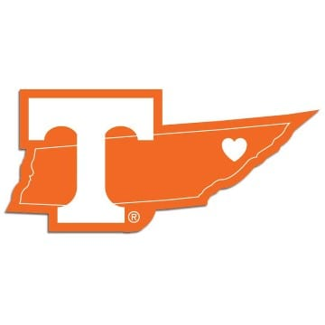 Tennessee Volunteers Merchandise - Home State Decal
