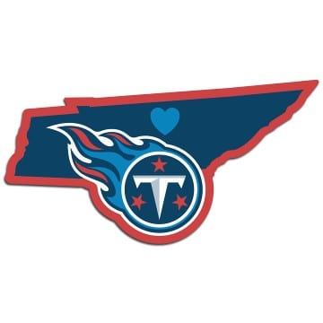 Tennessee Titans Merchandise - Home State Decal