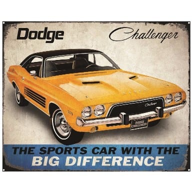Dodge Merchandise - Challenger Sign