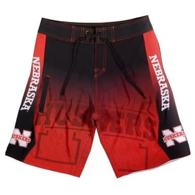Nebraska Cornhuskers Board Shorts