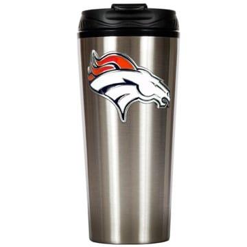 Denver Broncos Merchandise - Stainless Steel Travel Mug