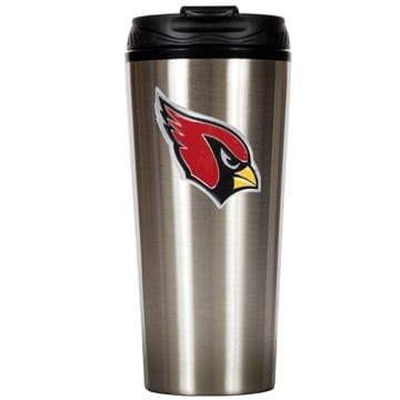 Arizona Cardinals Merchandise - Stainless Steel Travel Mug