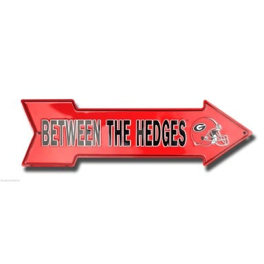 Georgia Bulldogs Merchandise - Between the Hedges Arrow Sign