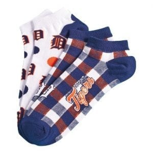Detroit Tigers Low Cut Socks