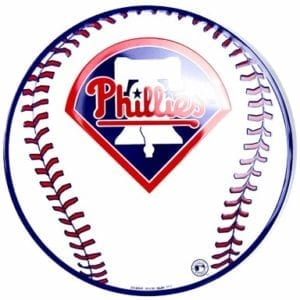Philadelphia Phillies Circle Sign