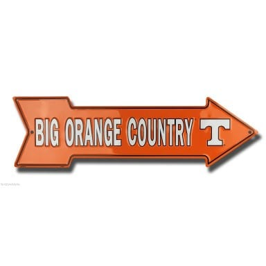 Tennessee Volunteers Arrow Sign