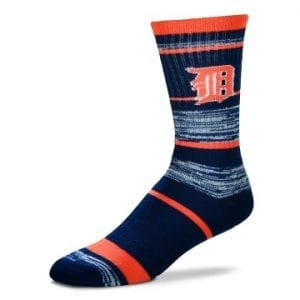 Detroit Tigers Crew Cut Socks
