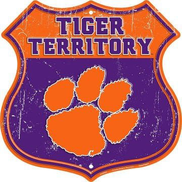 Clemson Tigers Highway Sign