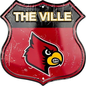Louisville Cardinals Merchandise - Highway Sign