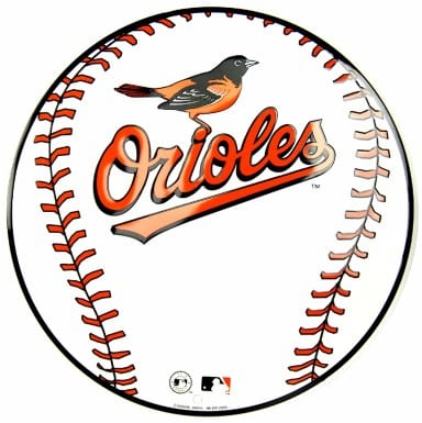 Baltimore Orioles Merchandise - Circle Sign