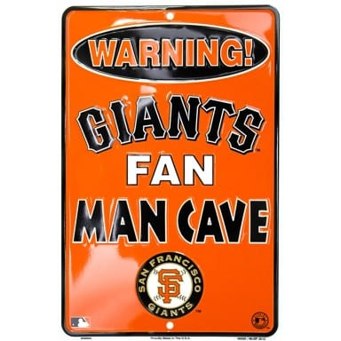 San Francisco Giants Merchandise - Parking Sign