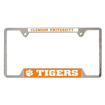 Clemson Tigers Merchandise - Metal License Plate Frame