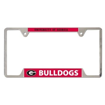 Georgia Bulldogs Metal License Plate Frame