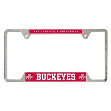 Ohio State Buckeyes Merchandise - Metal License Plate Frame