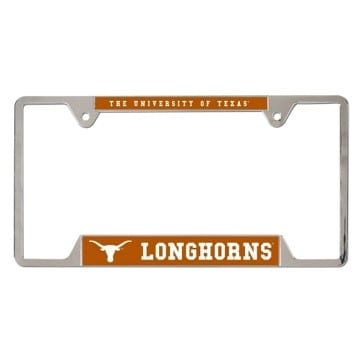 Texas Longhorns Metal License Plate Frame