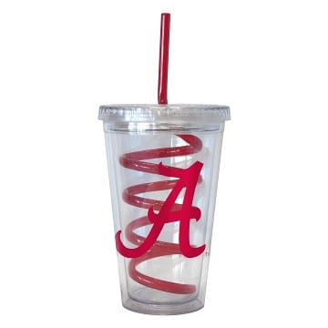 Alabama Crimson Tide Merchandise - Swirl Tumbler