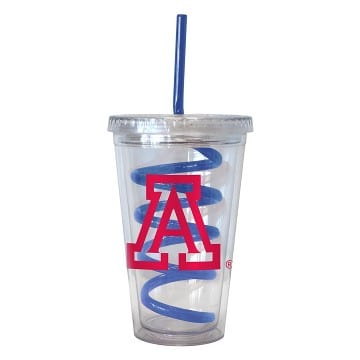 Arizona Wildcats Swirl Tumbler