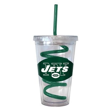 New York Jets Merchandise - Swirl Tumbler