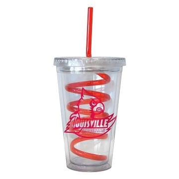 Louisville Cardinals Merchandise - Swirl Tumbler