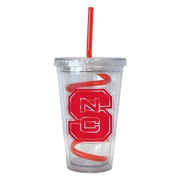 North Carolina State Wolfpack Swirl Tumbler