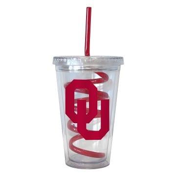 Oklahoma Sooners Merchandise - Swirl Tumbler