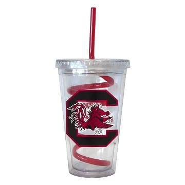 South Carolina Gamecocks Merchandise - Swirl Tumbler