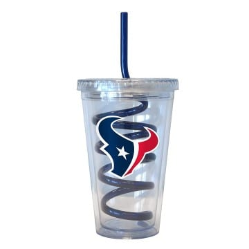 Houston Texans Merchandise - Swirl Straw Tumbler
