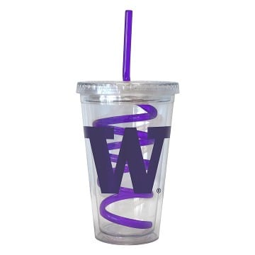Washington Huskies Merchandise - Swirl Tumbler