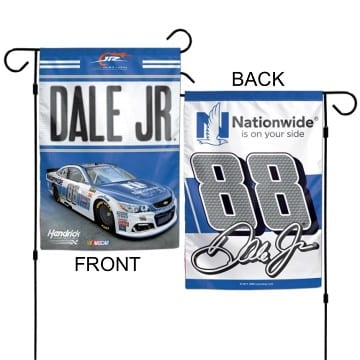 NASCAR Merchandise - Dale Earnhardt Jr 2 Sided Garden Flag