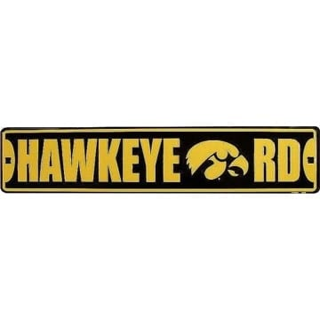 Iowa Hawkeyes Merchandise - Street Sign
