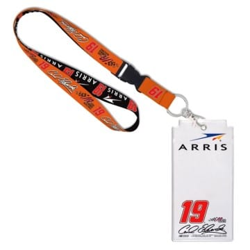 NASCAR Carl Edwards Credential Lanyard
