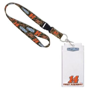 NASCAR Merchandise - Tony Stewart Credential Lanyard