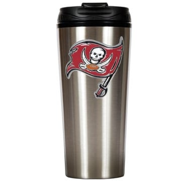 Tampa Bay Buccaneers Stainless Steel Travel Mug