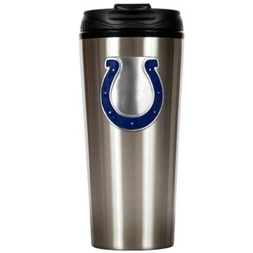 Indianapolis Colts Stainless Steel Travel Mug