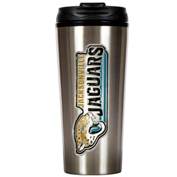 Jacksonville Jaguars Merchandise - Stainless Steel Travel Mug