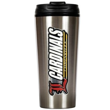 Louisville Cardinals Merchandise - Stainless Steel Travel Mug