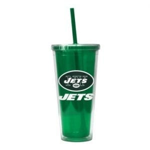 New York Jets Color Wall Tumbler