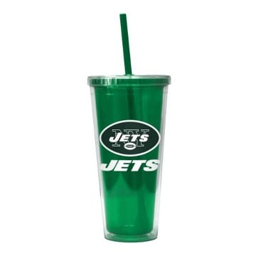 New York Jets Merchandise - Color Wall Tumbler