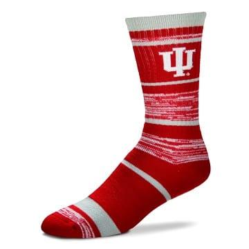 Indiana Hoosiers RMC Stripe Socks