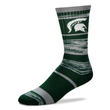 Michigan State Spartans RMC Stripe Socks